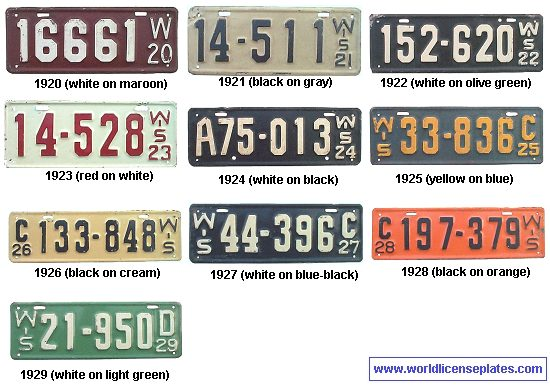 Old License Plates Casual Cottage